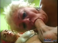 This grandma loves sex
